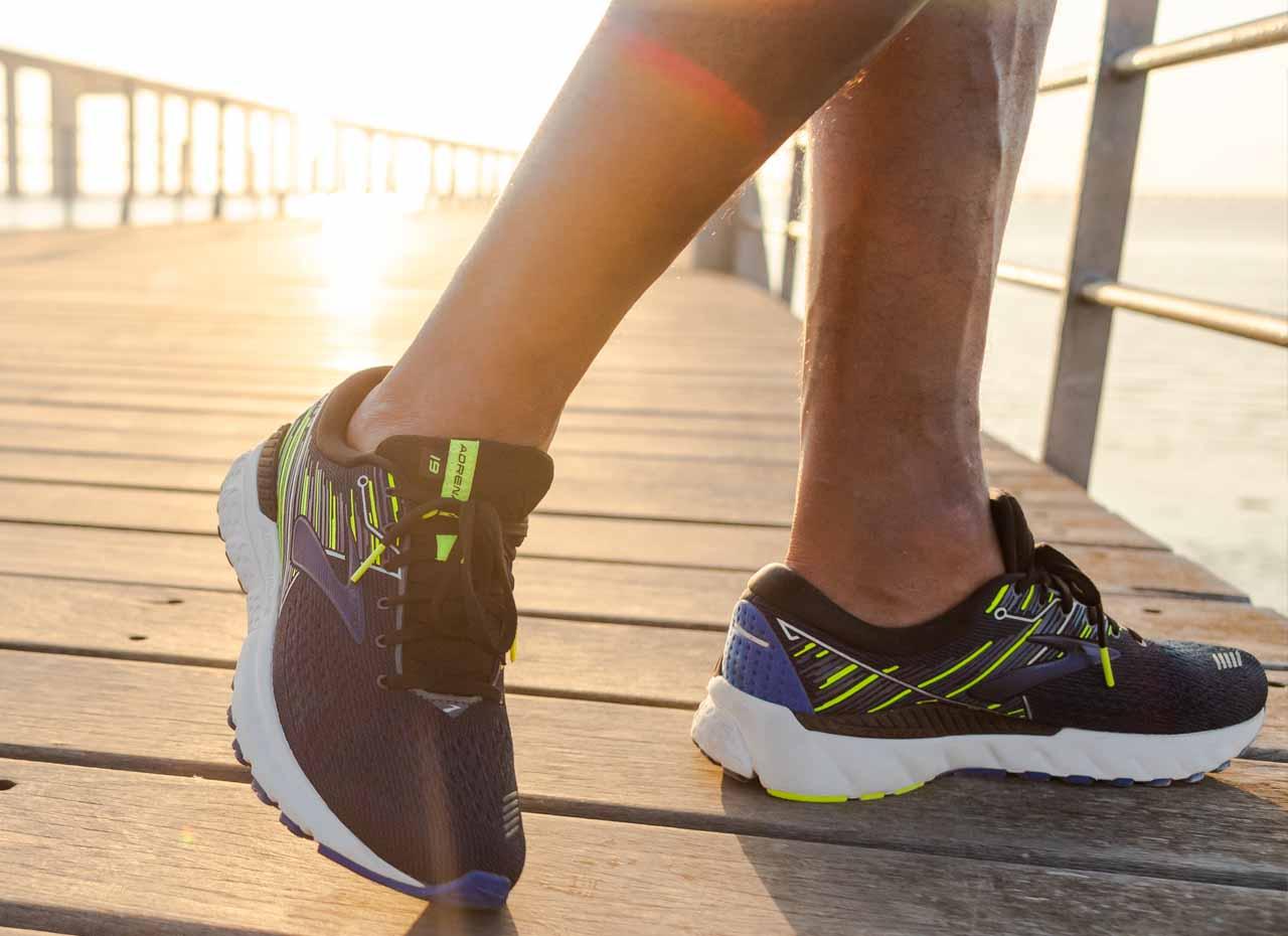 brooks adrenaline gts 19 scarpa running - disponibile da runnner